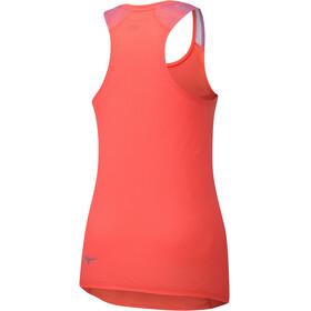 Mizuno Aero - Camiseta sin mangas running Mujer - rojo
